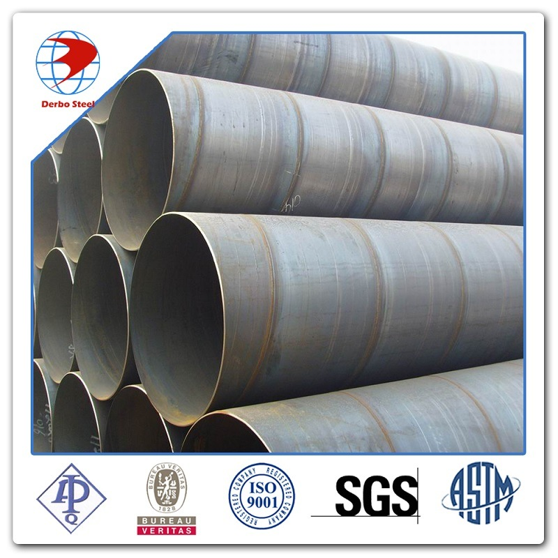 SSAW Welded Spiral Steel Pipe/Gr. B Carbon Spiral Steel Pipe 219mm-1620mm
