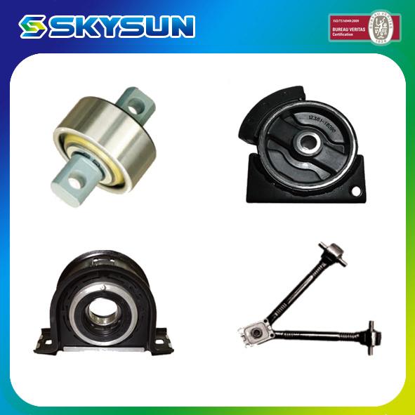 Truck Auto Parts 17225-57500 Rear Spring Bumper for Mitsubishi 8DC