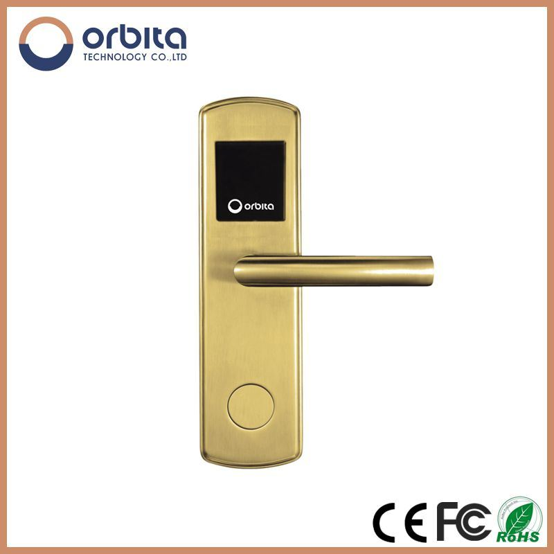 RFID Contacless LCD Display Hotel Door Lock System Digital Door Door Lock