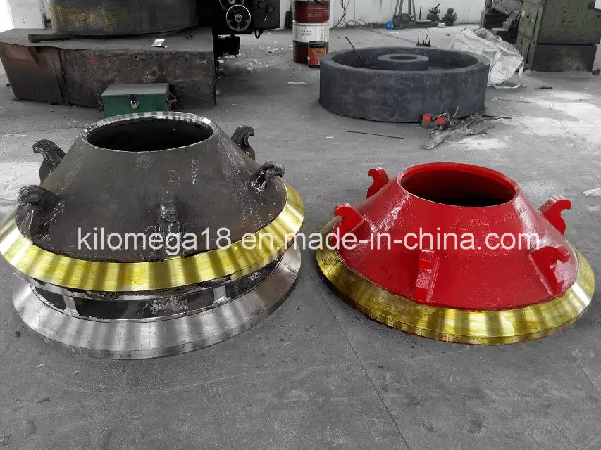Cone Crusher Wear Parts Mantle and Concave