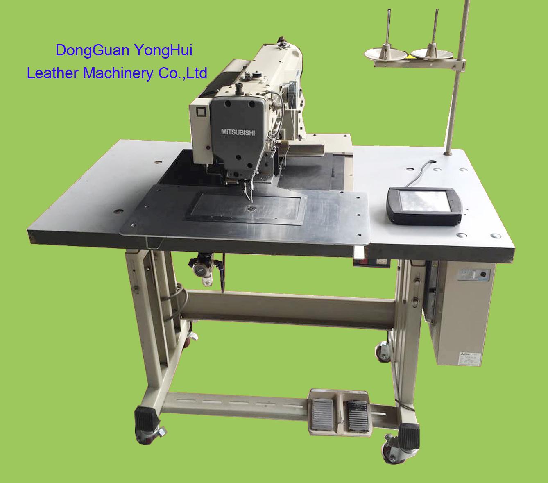 Used Mitsubishi Single Needle Computerized Pattern Sewing Machine (PLK-G2010R)