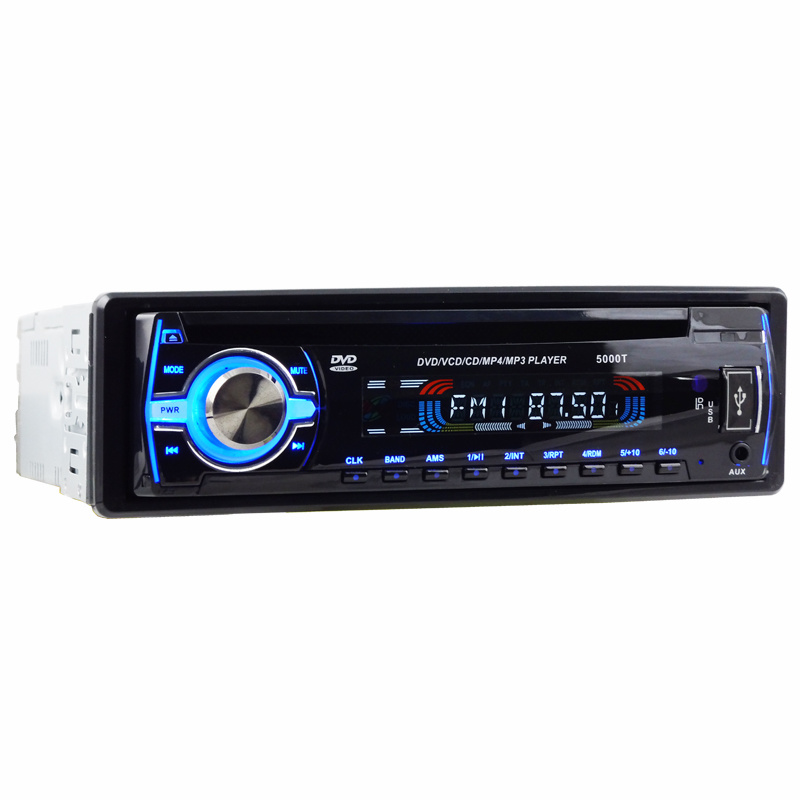 One DIN Detachable Panel Car DVD Player Ts-6002D