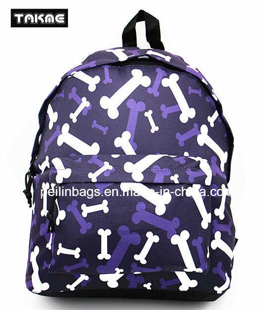 Fashion Printing Backpack Bag for School, Travel, Leisure