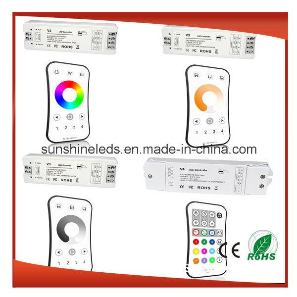 LED Controller (RGB/WiFi/DMX/RF/IR/SD Card/Touch)
