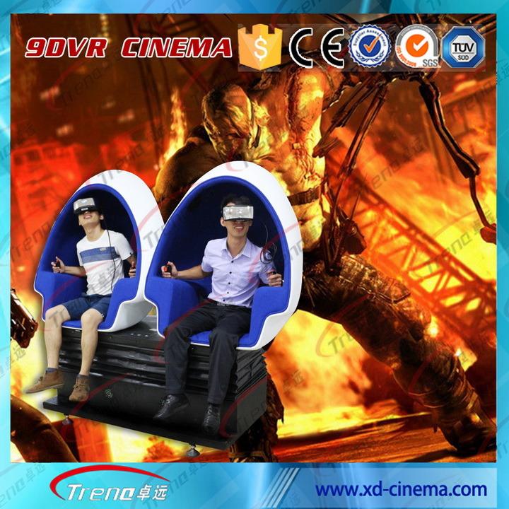 2 Seats 9d Vr Glass Virtual Reality 9d Cinema Simulator