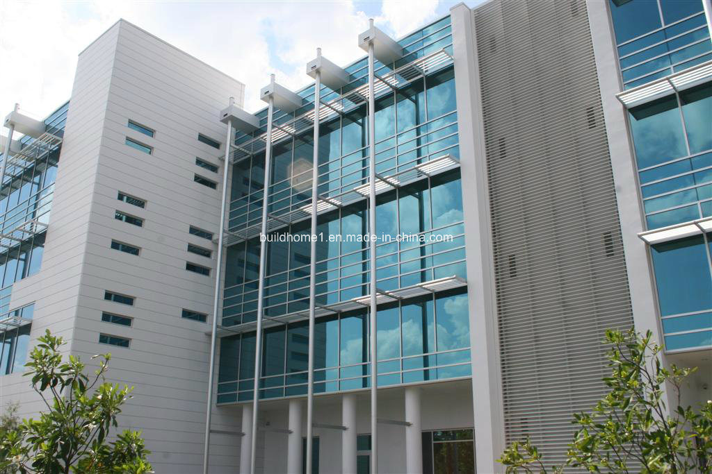 Private Hospital Frameless Installed Glass Curtain Walls