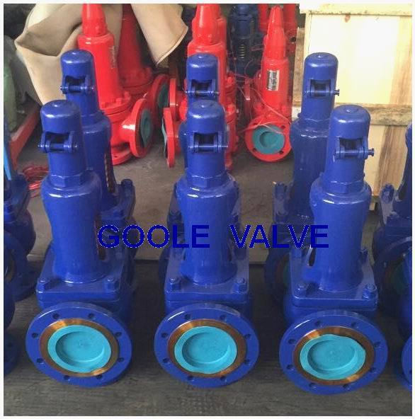 DIN 901/ 902 Spring Loaded Full Lift Safety Valve