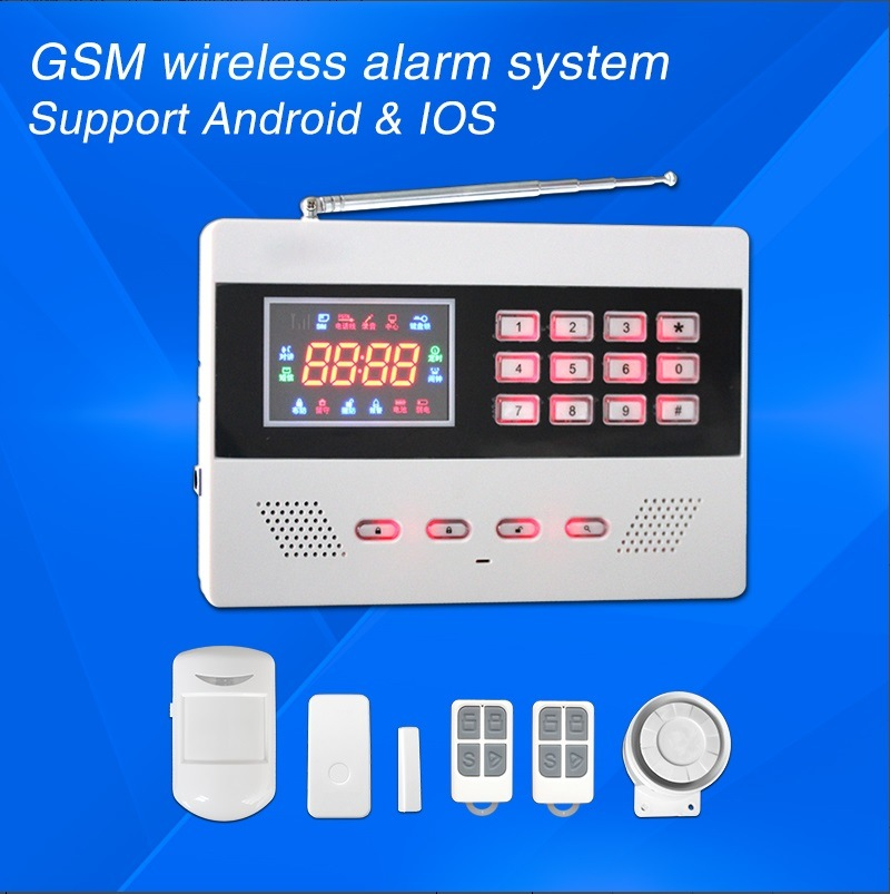 Intelligent Wireless GSM Security Home Alarm System