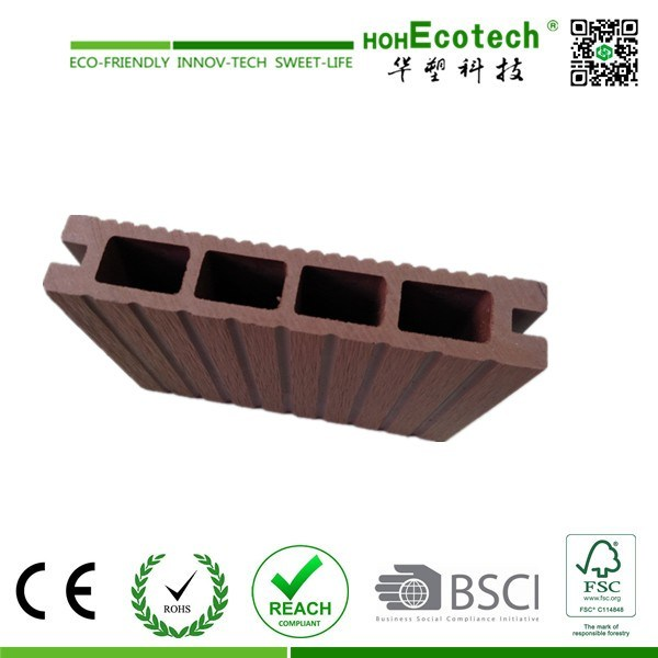 Eco-Friendly Good Quality Outdoor WPC Decking / Bridge Decking/River Bank Decking Floor