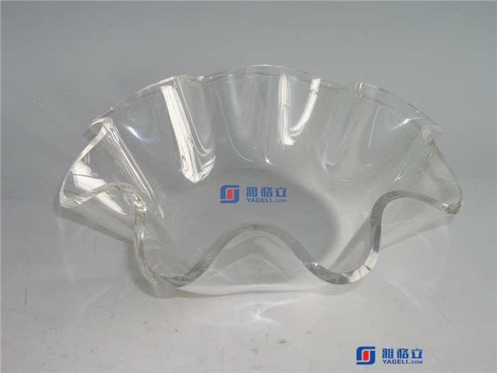 Acrylic Serving Fruit Tray for Bar & Hotel & Restaurant & Cafe