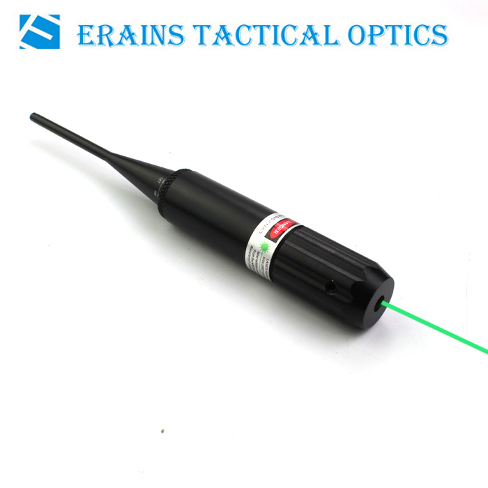 Erains Tac Optics Laser Sight Multifunctional Green DOT Laser Bore Sight for. 177 to. 50 Caliber Laser Boresighter