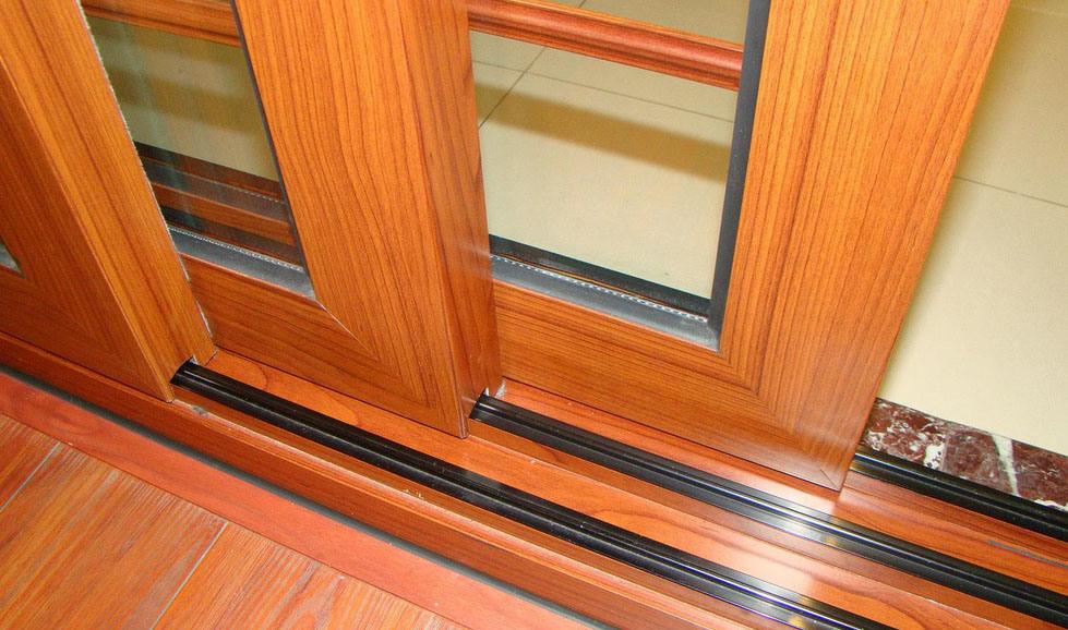 Australian Standard Double Glazing Aluminum Sliding Exterior Door