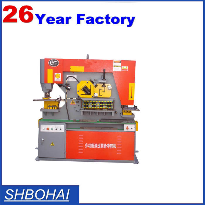 Hydraulic Iron Workers, Hole Punching Machine Model Q35y 20