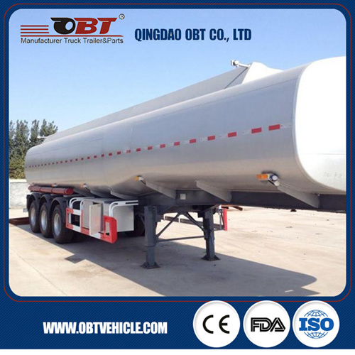 40000 45000 50000 Liters Fuel Oil Tanker Semi Trailer