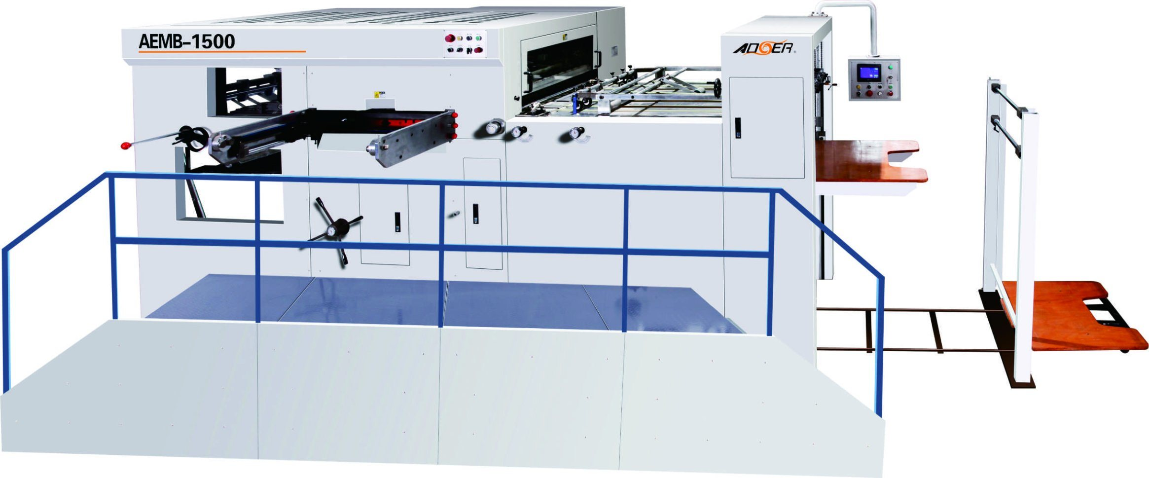 AEM-1650y Semi-Automatic Die Cutting Machine