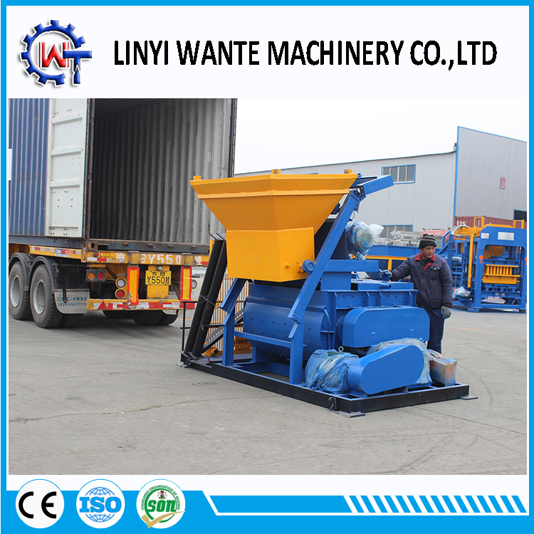 Qt8-15 Automatic Hydraulic Cement/Concrete Block Brick Machine
