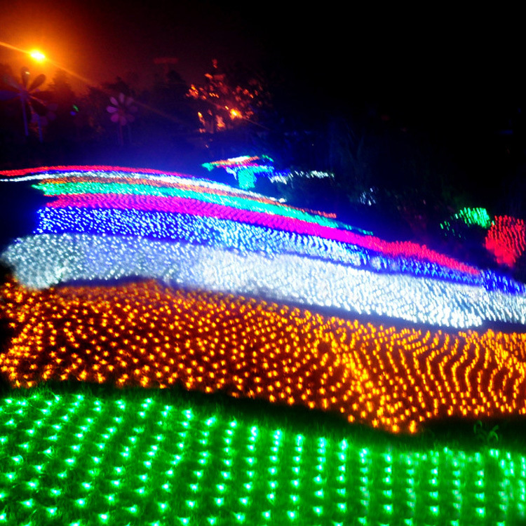 2*3m 204LED Waterproof LED Net Light with 8 Function Control