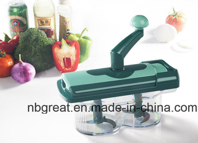 Multi-Chopper Kitchen 7-Pieces Nicer Slicer Fusion