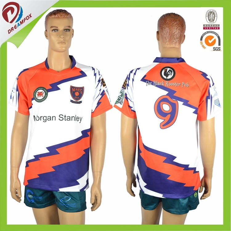 Custom Sublimated Rugby Practice Shirts, Rugby Jerseys, Rugby Uniforms
