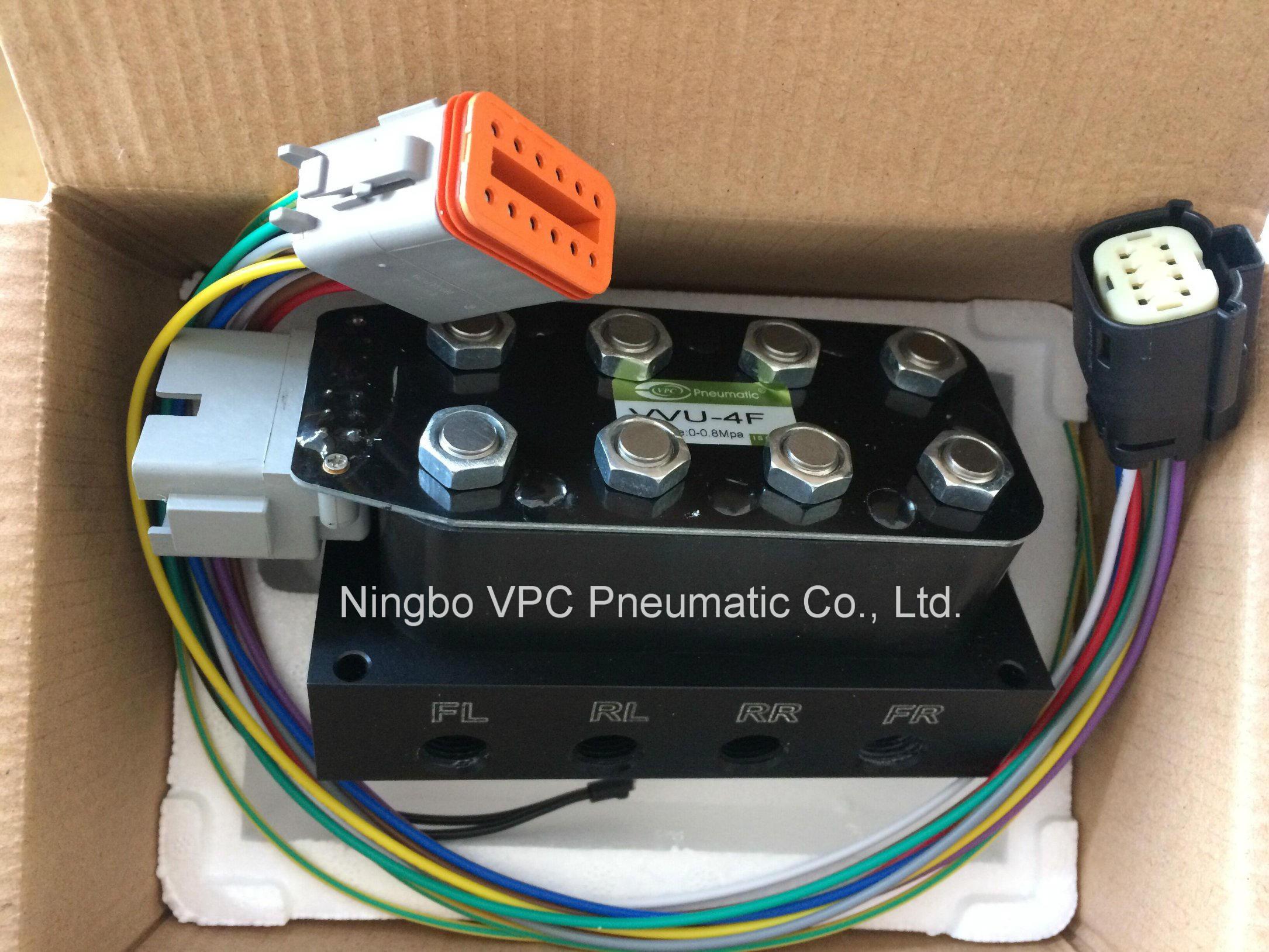 China vu corner solenoid valve unit air suspension
