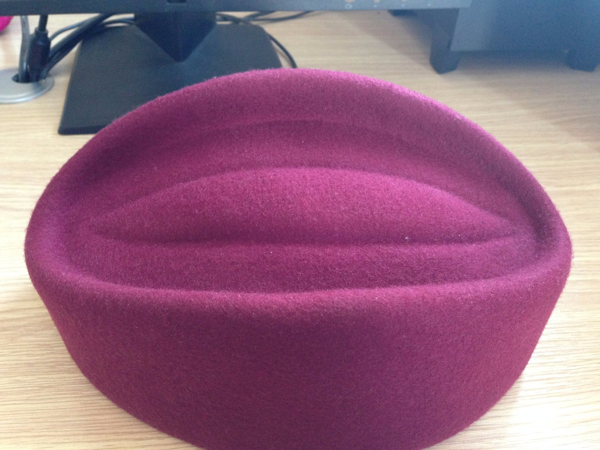 Air Hostess Hat Stewardness Cap for Lady Work Hat