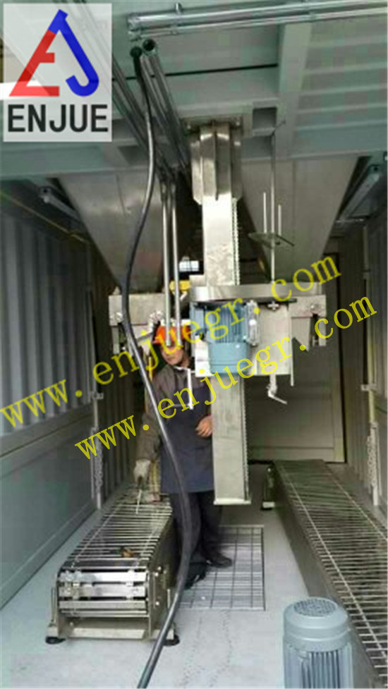 Removable Weighing and Bagging Unit for Grain Fertilizer Clinker