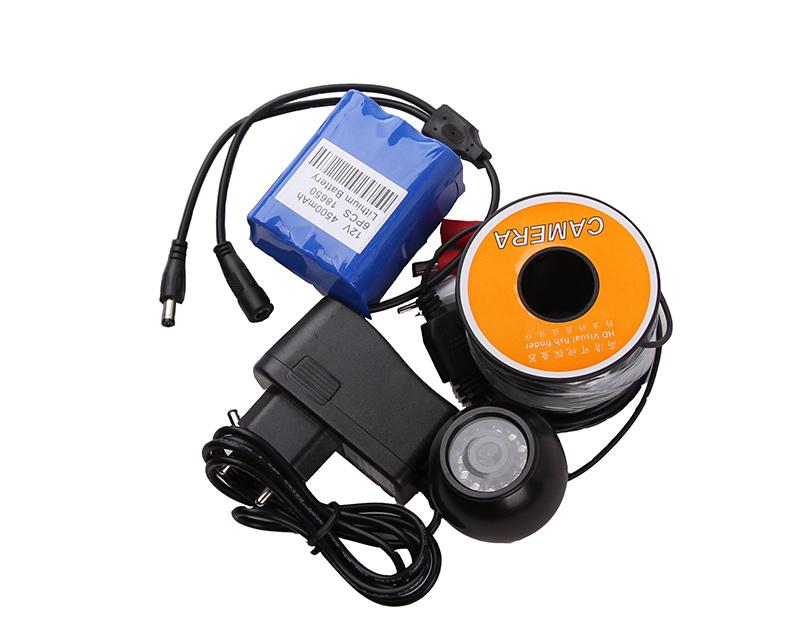 Underwater Camera 7′′ Monitor DVR Video Recording 7p3
