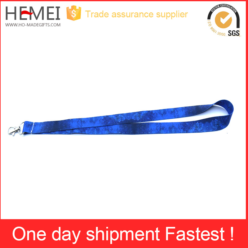 Jewelry Polyester Lanyard with Custom Logo Print