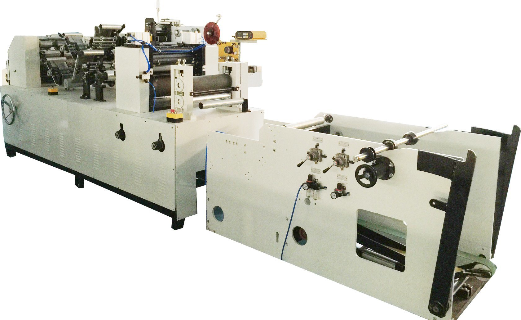 High Speed Full Automatic Handkerchief Paper Production Line Machine