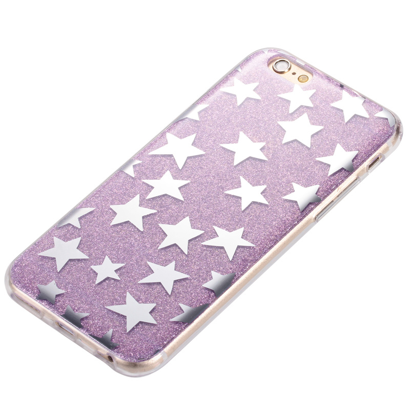 Bling Laser Melting Rainbow Color Phone Case for iPhone 6 6s Plus