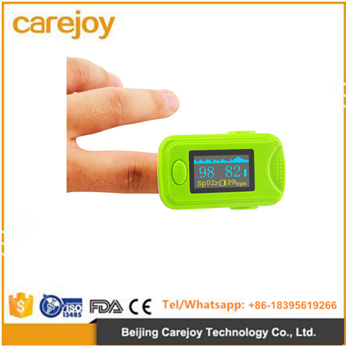 Smart Pulse Advanced Finger Tip Pulse Oximeter with Five Color OLED Screen-Candice