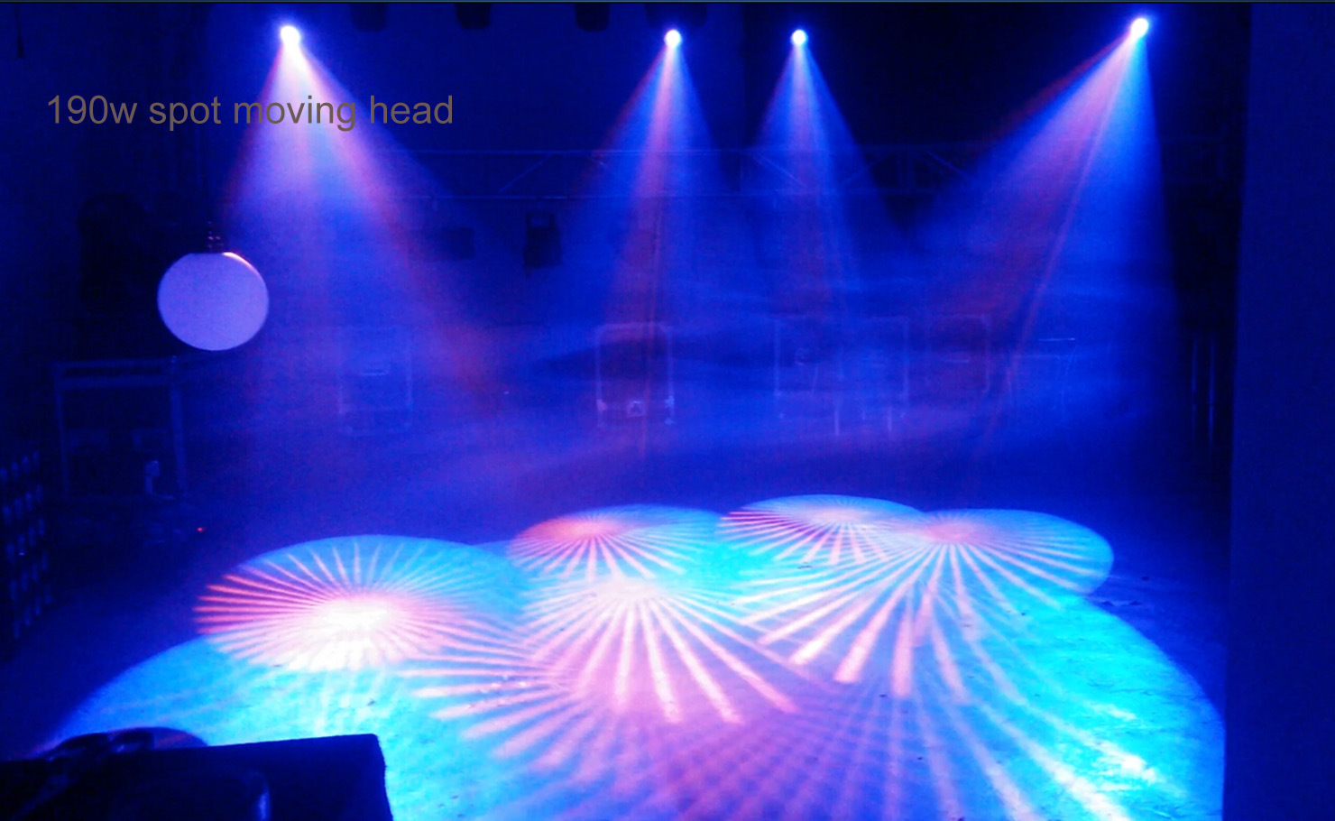 DMX LED 190W Spot Moving Head Light for Professional Stage (HL-190ST)