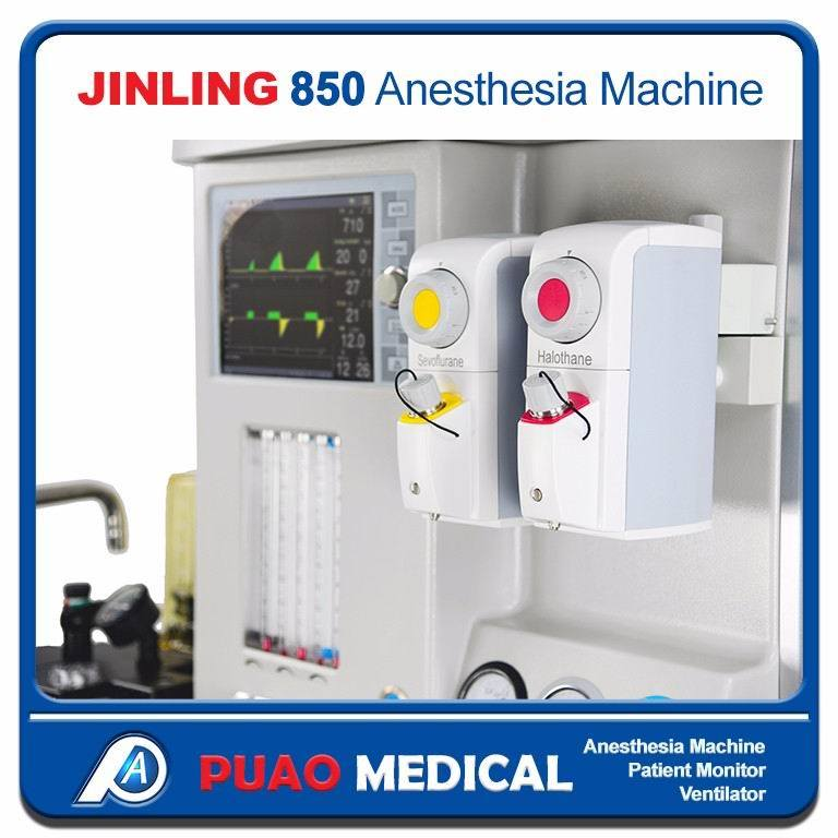 Jinling 850 Advanced Model Anesthesia Machine