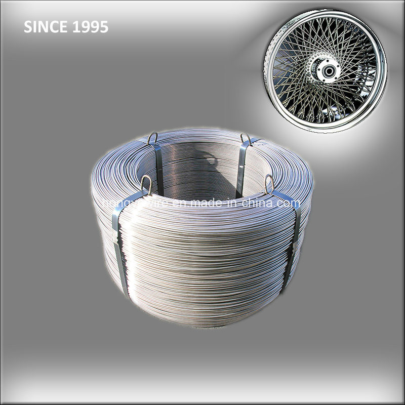 SAE1045 Spoke Motorcycle Rims Wire