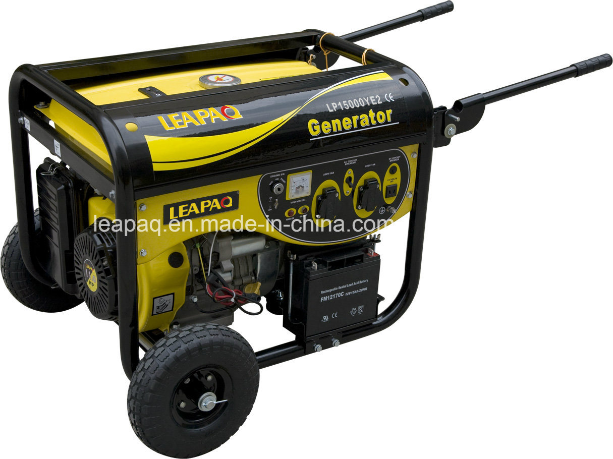 5.0kw Wheels & Handle Y-Type Portable Gasoline Generator