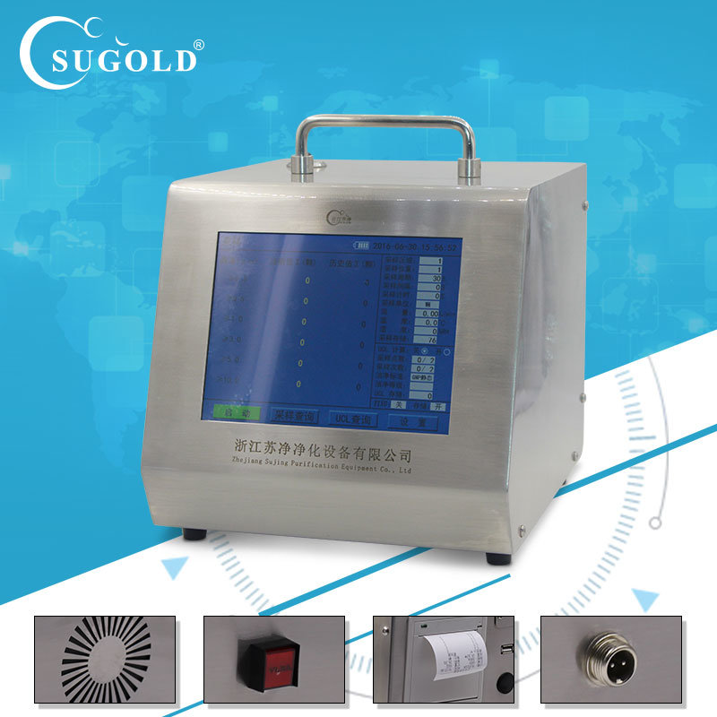 Battery Operated Laser Particle Counter