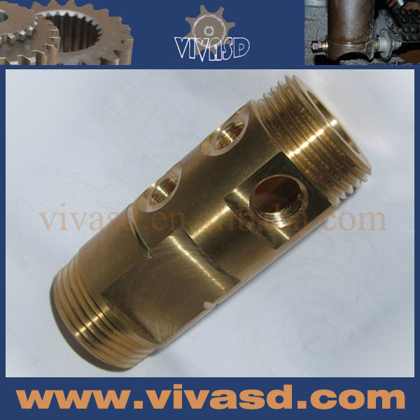 CNC Turning Parts Sanitary Fitting CNC Machining Service