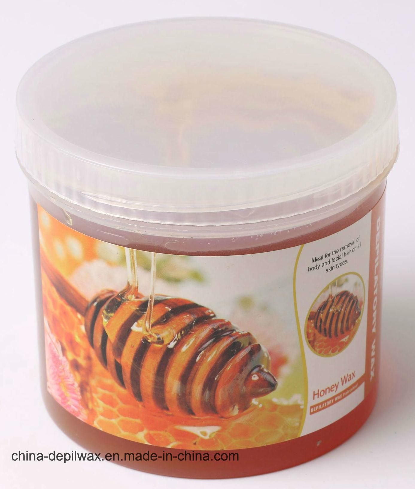 425g Jar Soft Depilatory Wax Pink Creme Wax with Less Pain Waxing