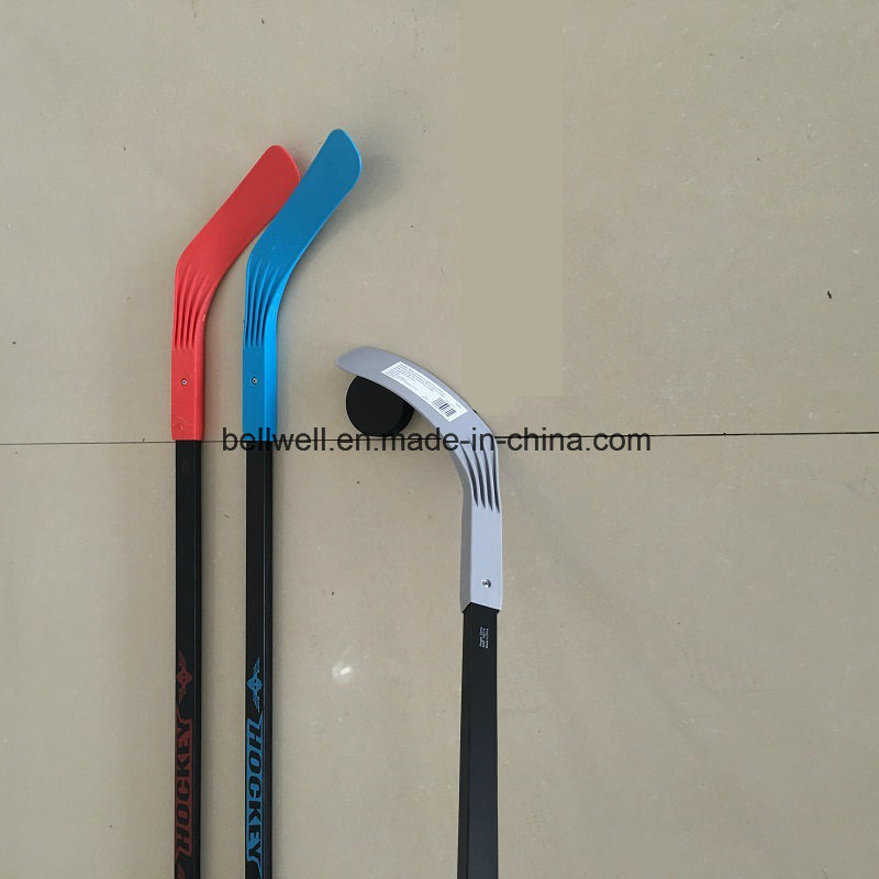 PP Blade Wood Shaft Customed Hockey Stick Set Adult and Children