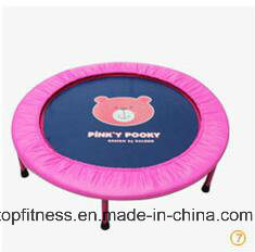 2017 Hot Sell Round Fitness Mini Trampoline Indoor for Adult