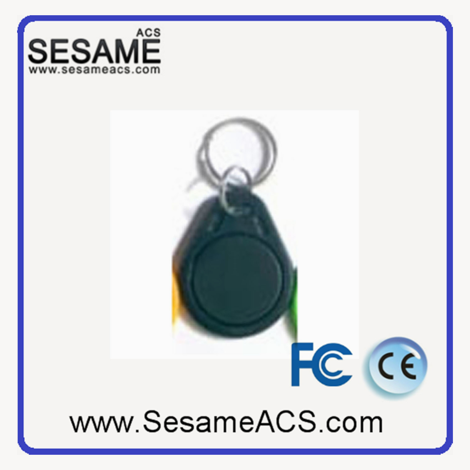 Em Marin 125kHz RFID Key Tag Support OEM (SD3)