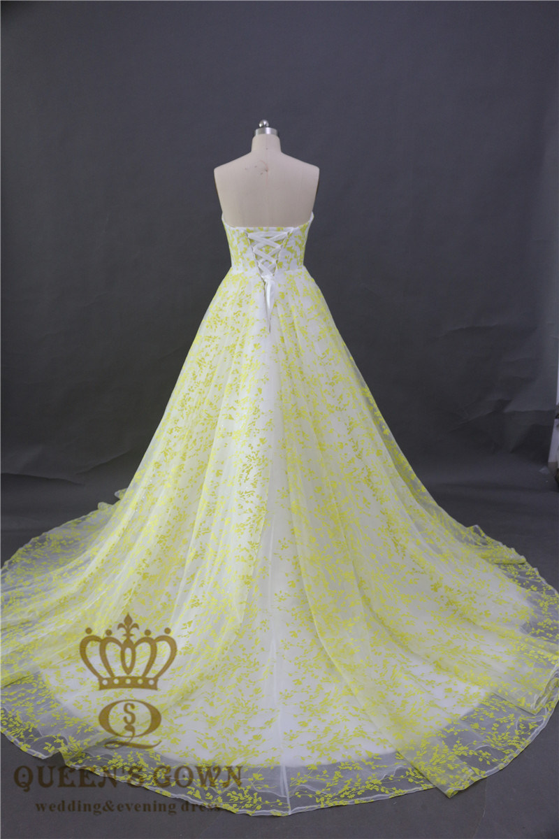 2017 Fashion Women Organza Lace Ladies Evening Dresses Bridal Wedding Party Prom Dress