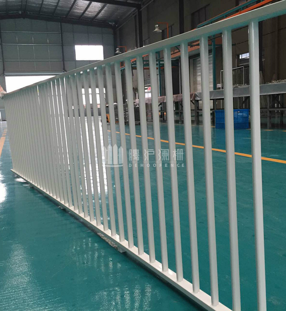 Galvanized Welded Steel Fence with Competive Price for High Decoration