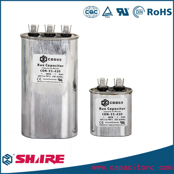Cbb65 Air Conditioner Capacitors