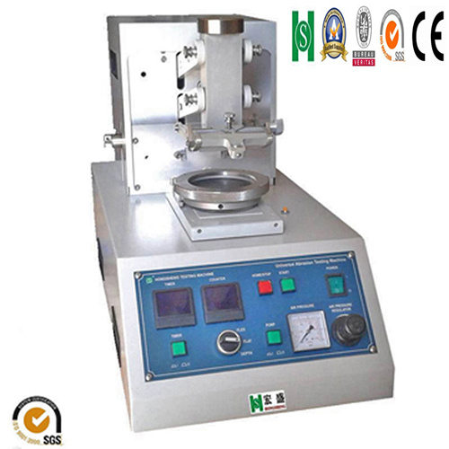 Multifunction Abrasion Tester for Leather and Plastic