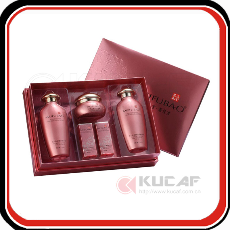 Custom Hot Stamping Logo Paper Packaging cosmetic Box