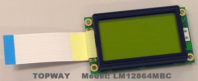 128X64 Graphic LCD Module COB Type LCD Display (LM12864M) Widely Use on UPS Device