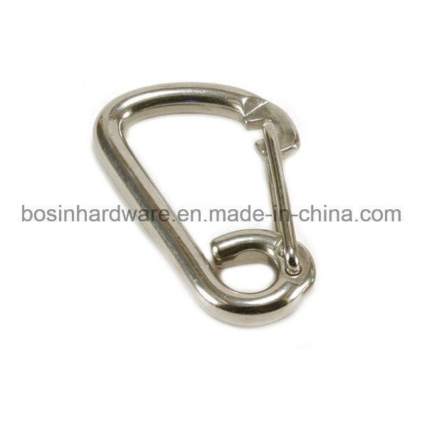 Stainless Steel Spring Carabiner Snap Hook