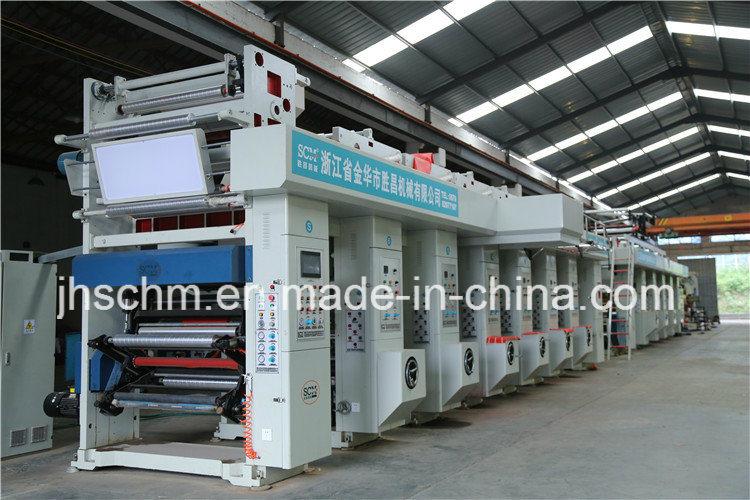 Automatic Rotogravure Printing Machine
