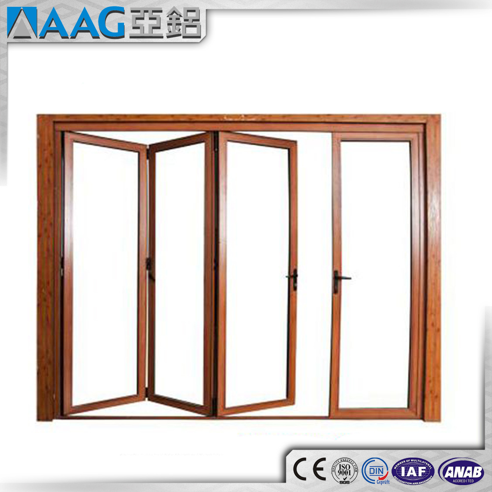 Aluminum/Aluminum Folding Doors and Windows